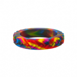 Tread Bangle (child) - 'Rainbow' (multicolour) - Chewigem